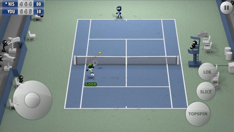 Stickman Tennis - Career screenshot-3