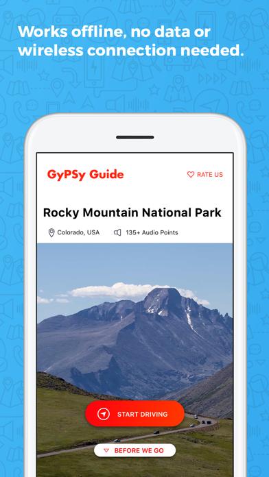 Rocky Mountain NP GyPSy Guide Screenshot