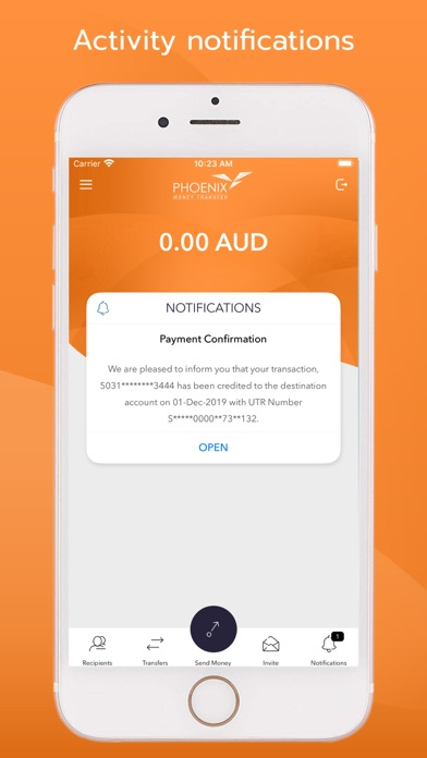 Screenshot for Phoenix Money Transfer in Australia App Store