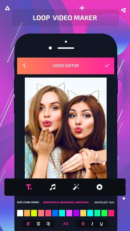 Loop vid-loop video&video GIF screenshot-3