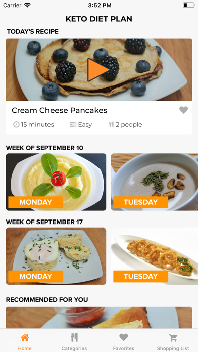 KetoDietApp Screenshot