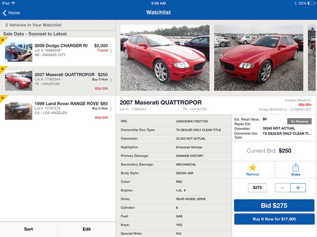 Copart - Salvage Car Auctions on the App Store