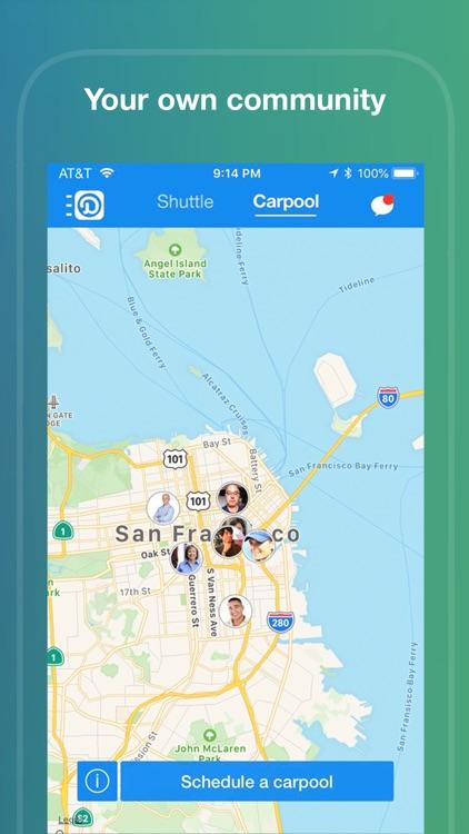 Duet-Shuttle, Transit, Carpool screenshot-5