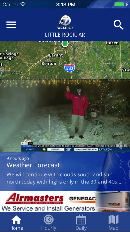 KATV Channel 7 Weather by WJLA TV on fox 16 weather, kthv weather, wtte weather, kark weather, your local weather, wpxi weather, wttg channel 5 weather, wkef weather, arkansas weather, wxia-tv weather, wotv weather, today's thv weather, wqow weather, wplg weather, wapt weather, kfxa weather, wncn weather, wtvf weather, channel 8 weather, kdfw weather,
