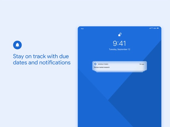 Google Tasks: Get Things Done-ipad-3
