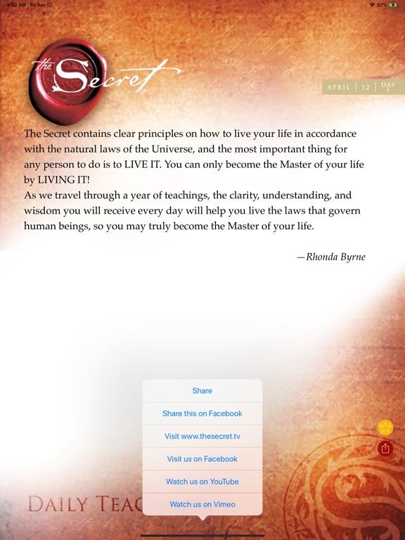 The Secret Daily Teachings screenshot 9
