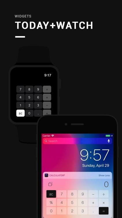 Calculator³: 3-in-1 calculator screenshot-3