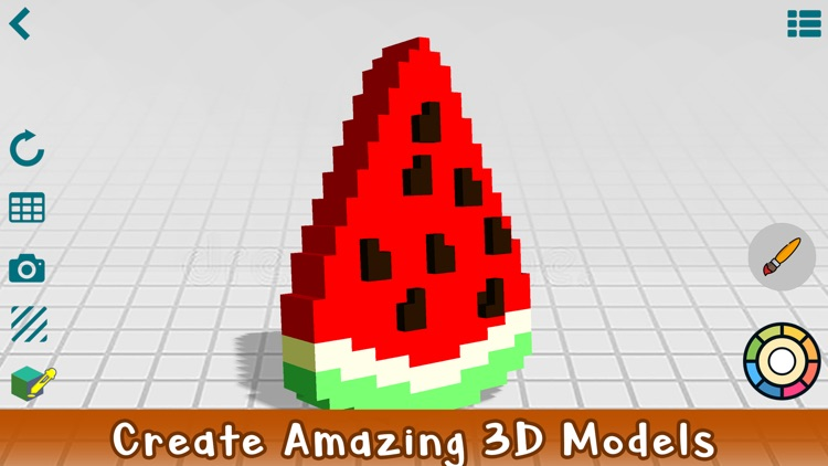 Poxel 3D - Voxel Editor, Maker screenshot-3