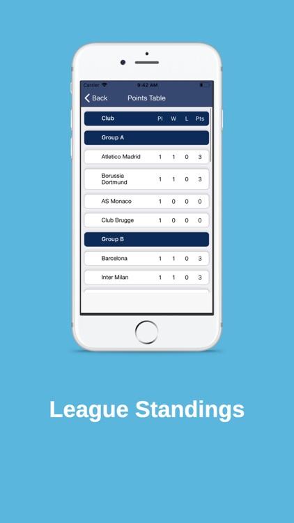 UEFA League live Score screenshot-3