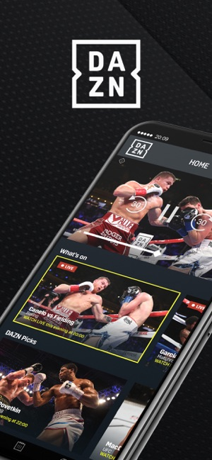 DAZN: Live Boxing, MMA & MLB on the App Store