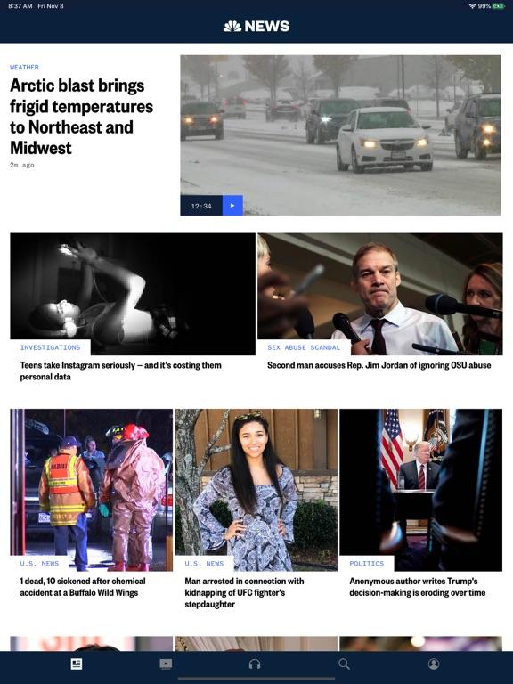 NBC News: Breaking & US Newsのおすすめ画像1