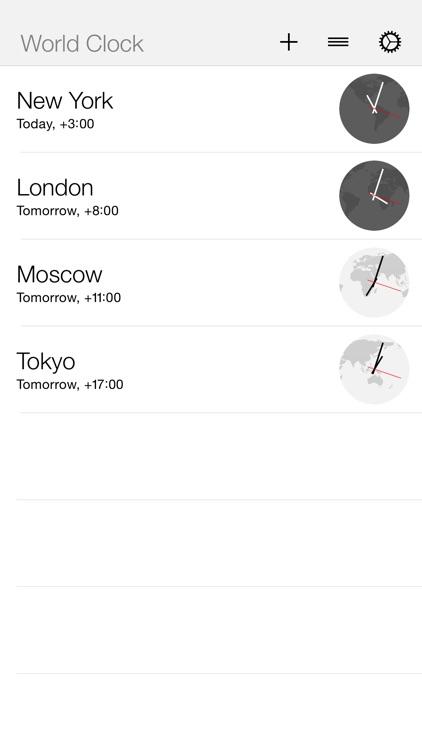 World Clock Widget+