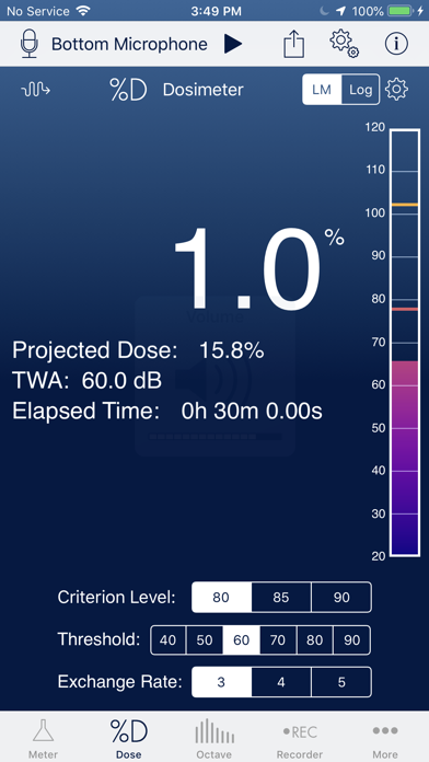 SoundMeter X by Faber Acoustical, LLC (iOS, United States