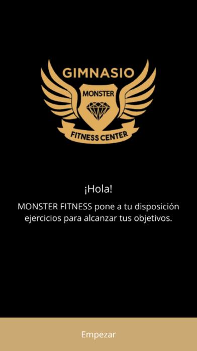Monster Fitness screenshot 1