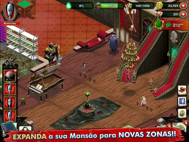 ‎Addams Family: Mystery Mansion Screenshot