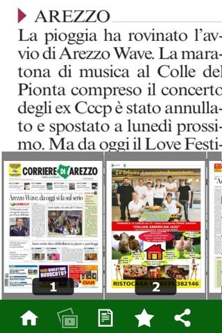 Corriere di Arezzo digitale - náhled