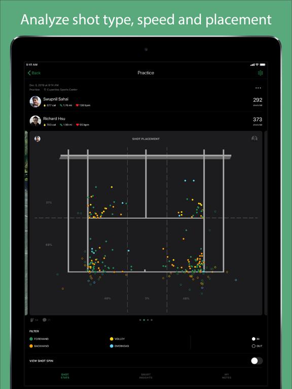 Screenshot #4 pour SwingVision - A.I. Tennis App