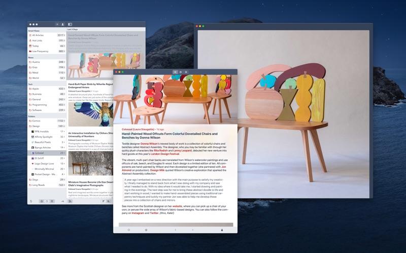 Fiery Feeds: RSS Reader for Mac