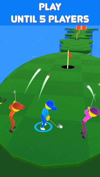 Golf Race screenshot 1