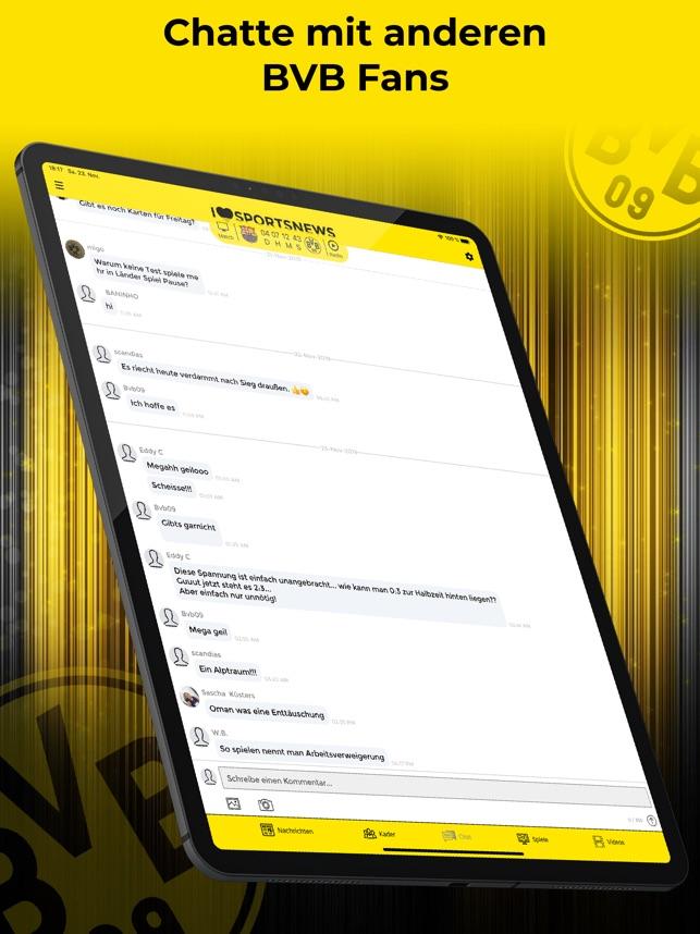 Sports News BVB 09 Edition im App Store