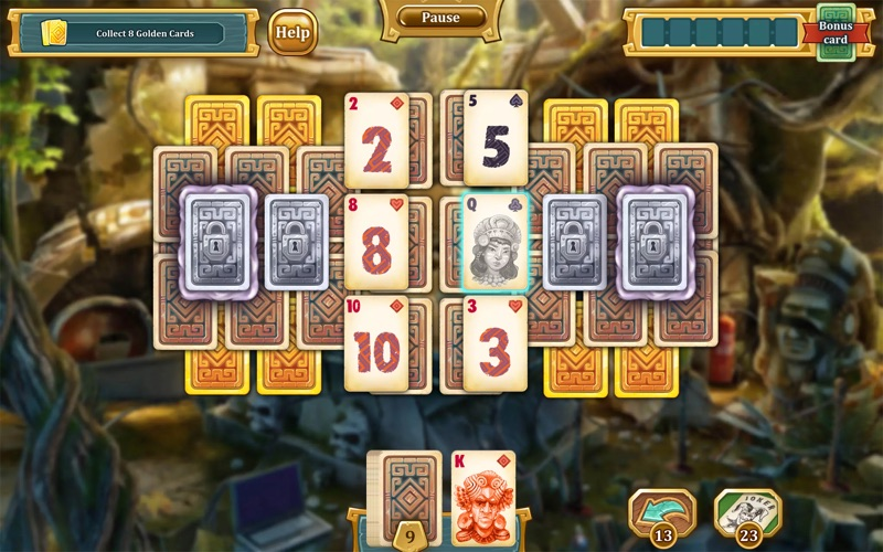 Solitaire Treasures of Time screenshot 5
