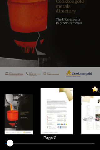 Cooksongold Digital Catalogues - náhled