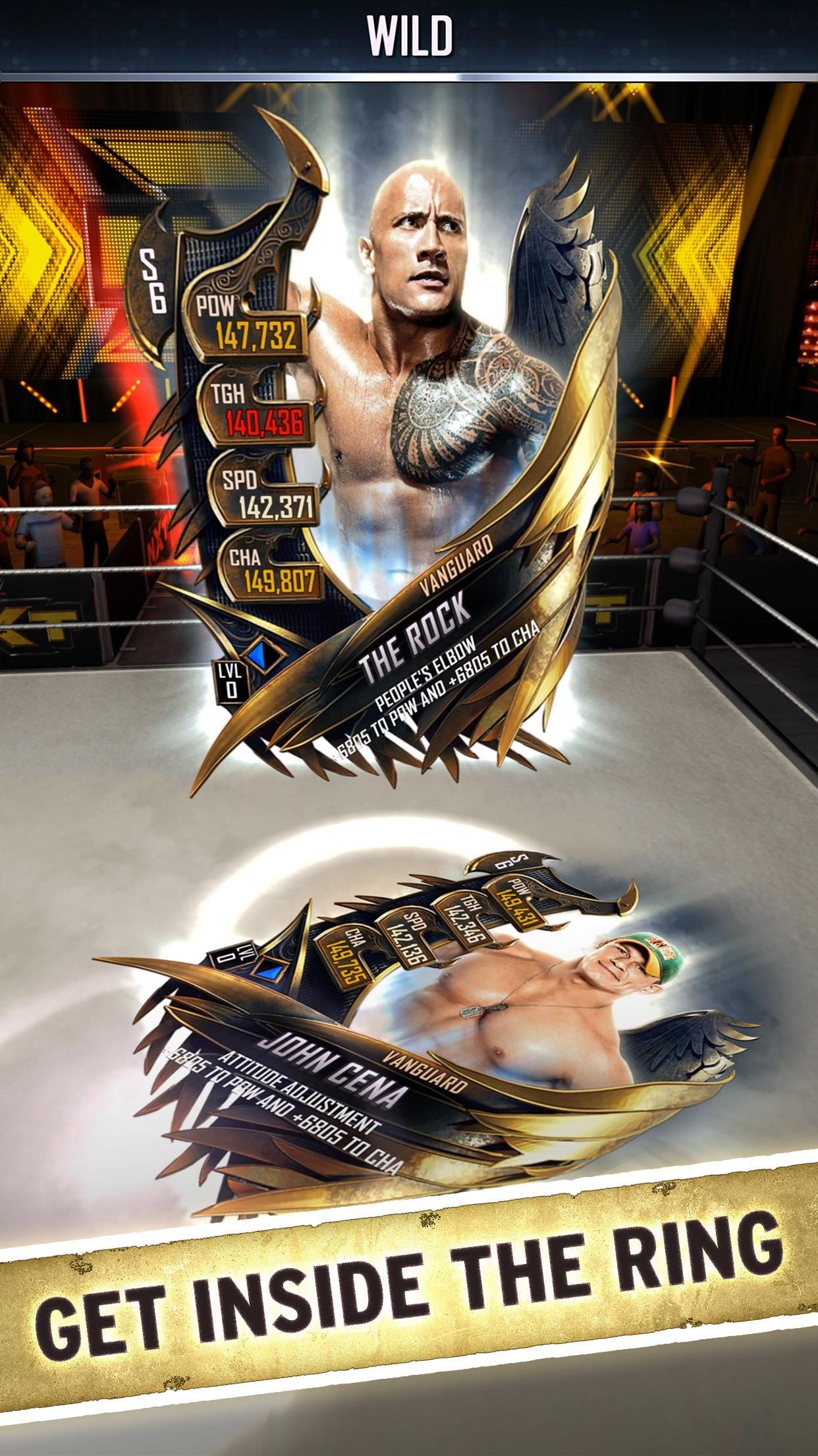 WWE SuperCard Screenshot