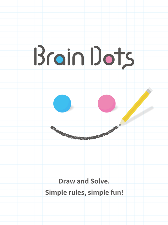 Brain Dots iPad app afbeelding 1