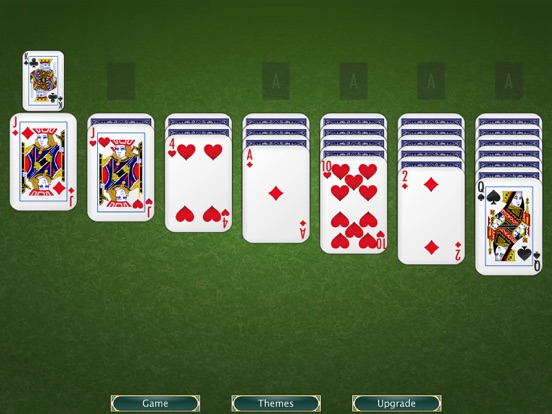 Solitaire screenshot one