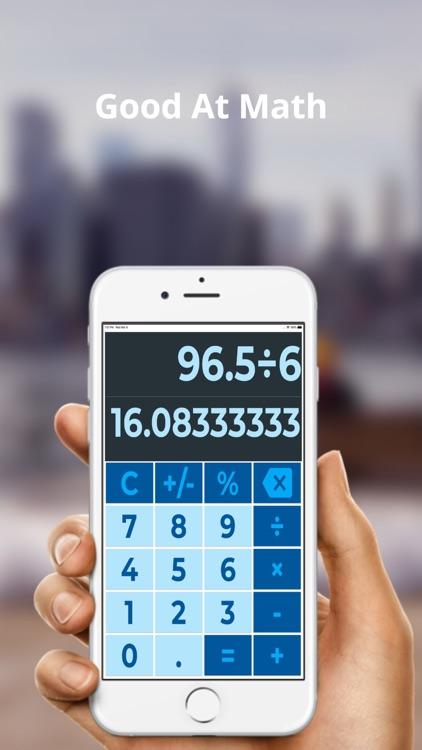 Big Finger Calculator