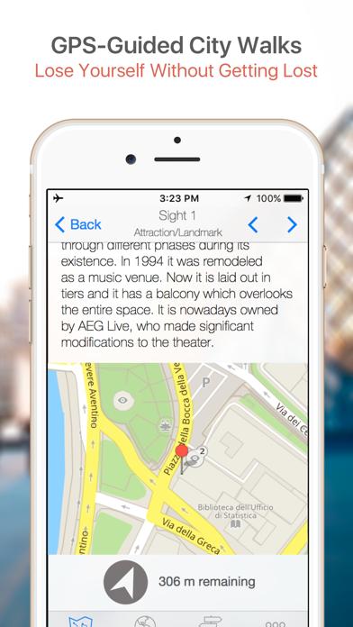 Tel Aviv Map & Walks (F) screenshot three