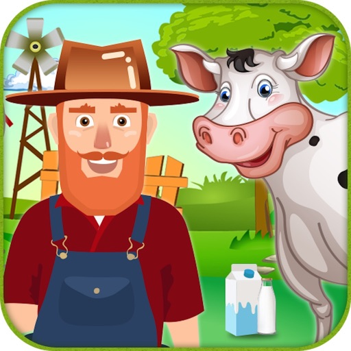 Cow Farm Day - Farming Game