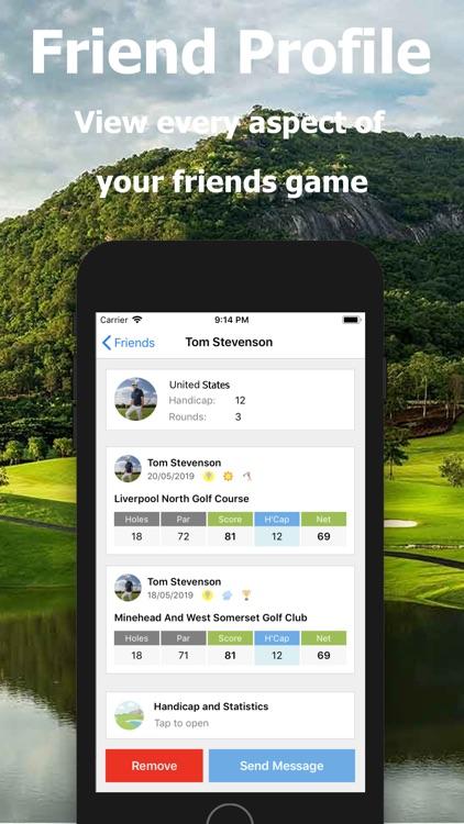 Golf Handicap - Online Golf screenshot-6