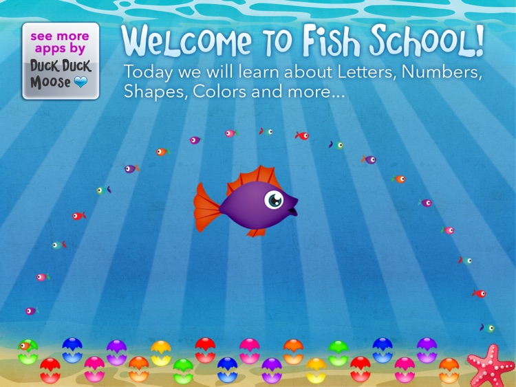 Fish School – 123 ABC for Kids