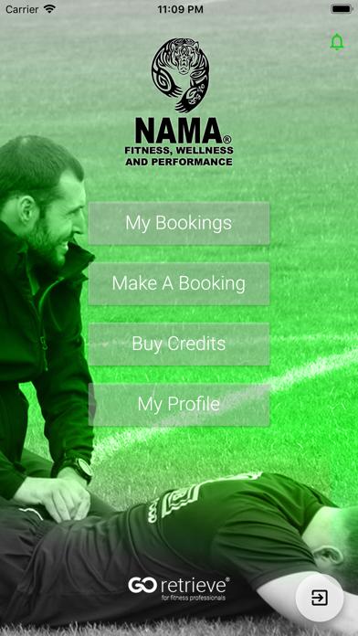 NAMA Fitness screenshot 1