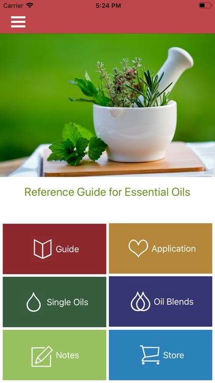 Guide for Essential Oils