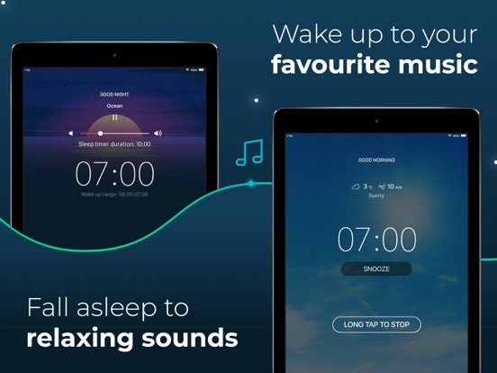 Good Mornings - Free Smart Sleep Cycle Tracker and Alarm Clock screenshot