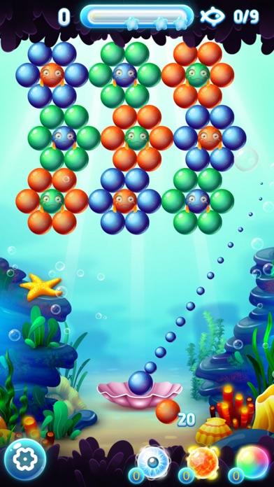 Bubble Shooter Ocean screenshot 1