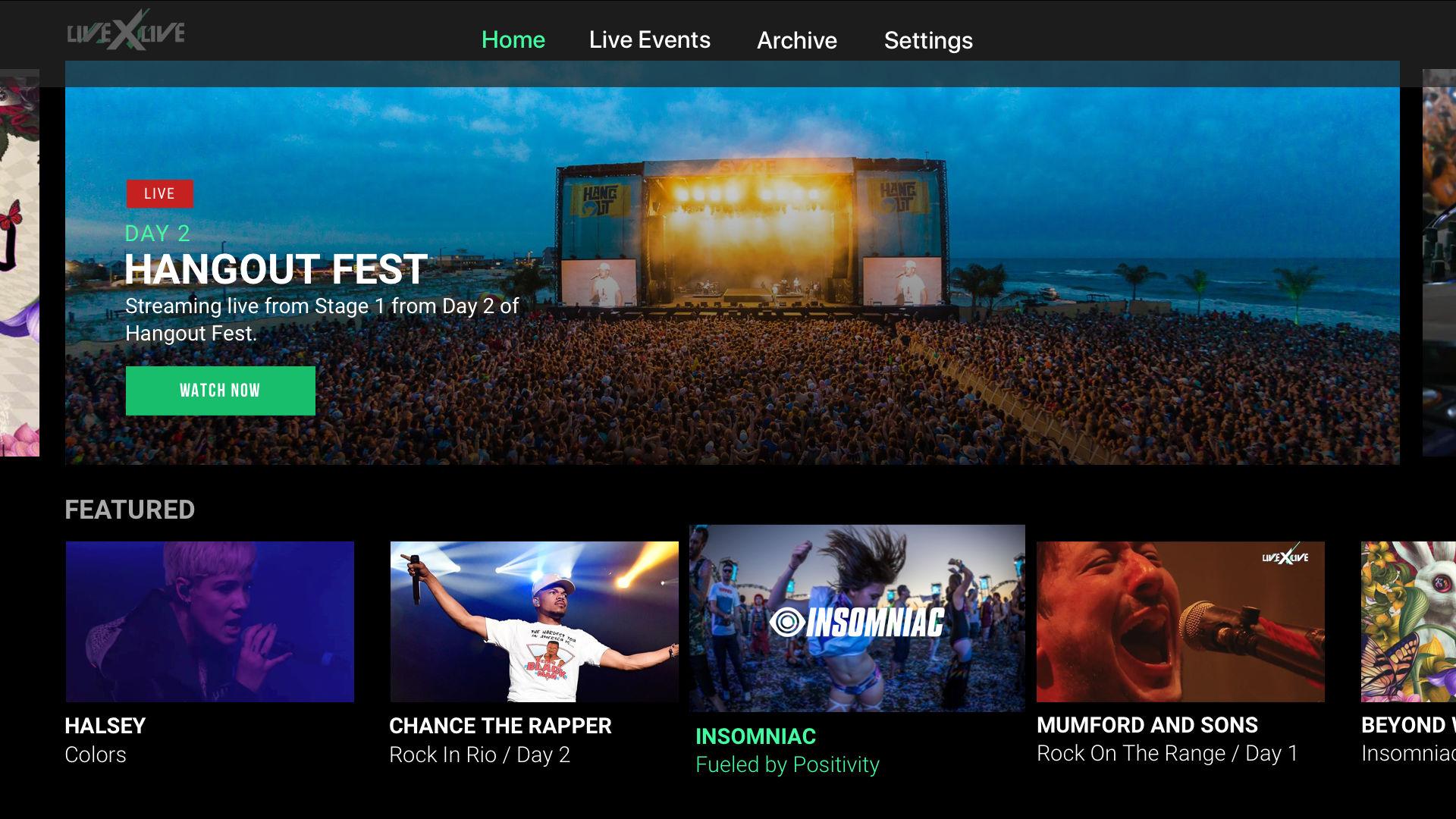 LiveXLive screenshot 11