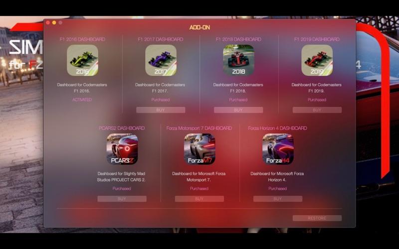 Sim Racing Dashboard screenshot 9