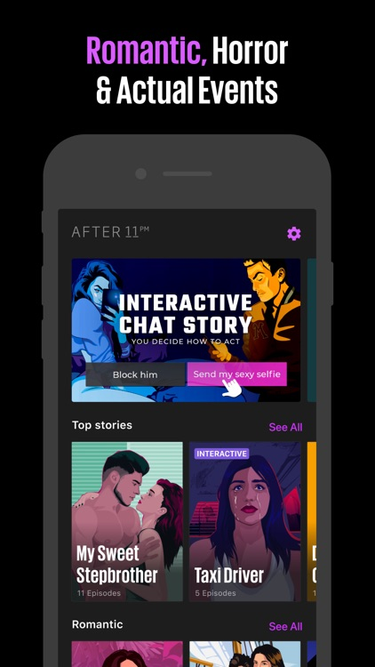 AFTER 11 PM — Chat Stories