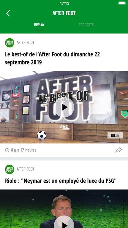 RMC Sport News, Foot en direct screenshot-6
