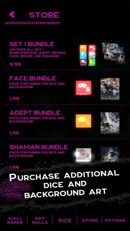 Shadowrun Dice Roller screenshot-4
