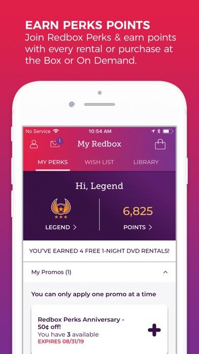 Redbox Rent Watch Play review screenshots