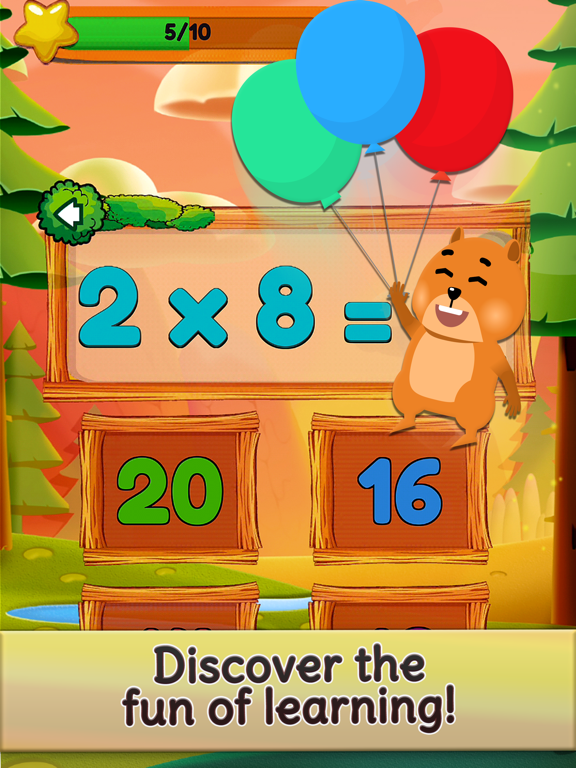 Times Tables and Friends Screenshots