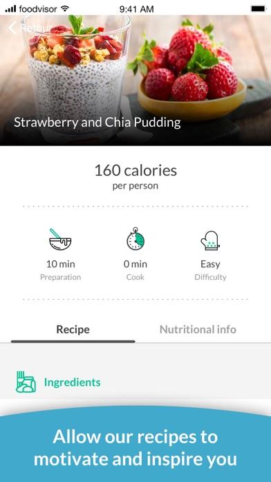Foodvisor - Calorie Counterのおすすめ画像5