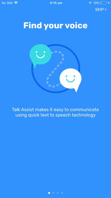 Talk Assist - Text to speech screenshot one