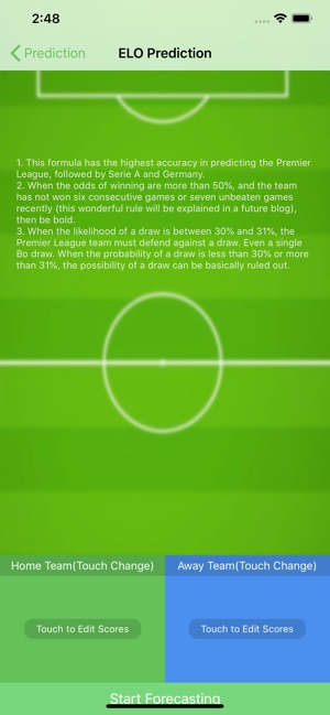 Match Prediction on the App Store