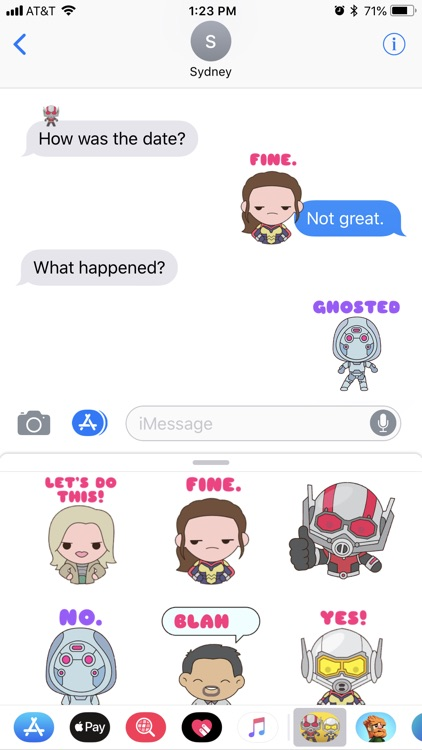 Ant-Man and The Wasp Stickers