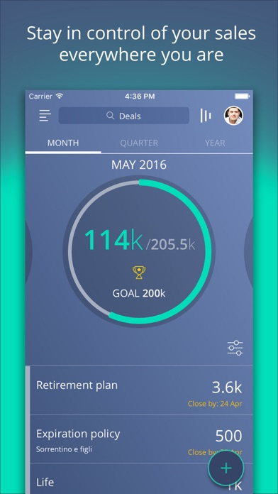 messages.download CRM and sales tracking - Sellf software